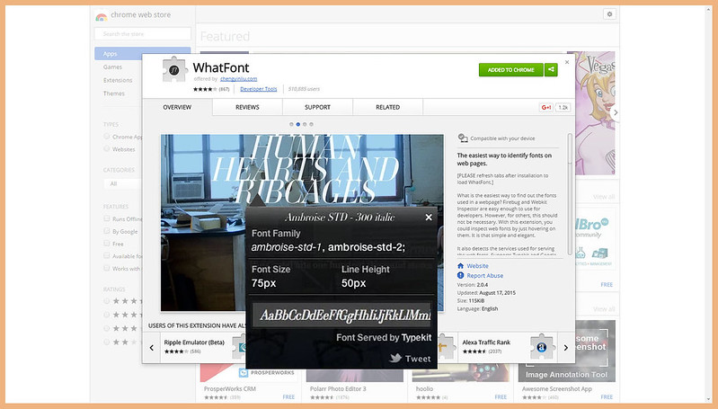 Blogging Tips | 7 Helpful Tools and Resources Websites You Didn't Know You Needed - WhatFont