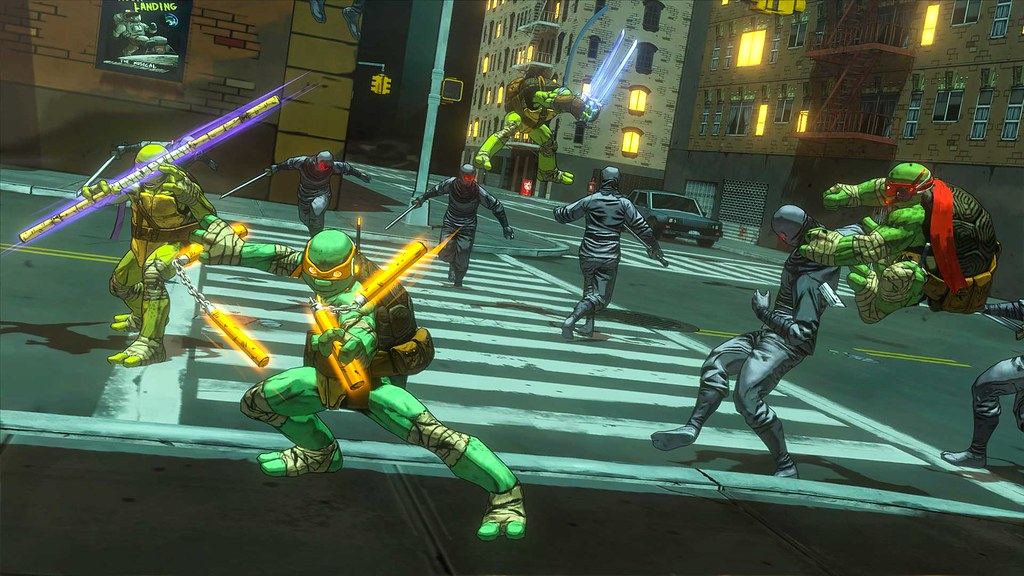 Teenage Mutant Ninja Turtles: Mutants in Manhattan on PS4