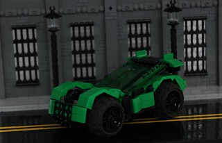 #8 Green Lantern's Supercar
