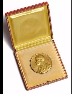 Mullis' 1993 Nobel Prize in Chemistry medal box