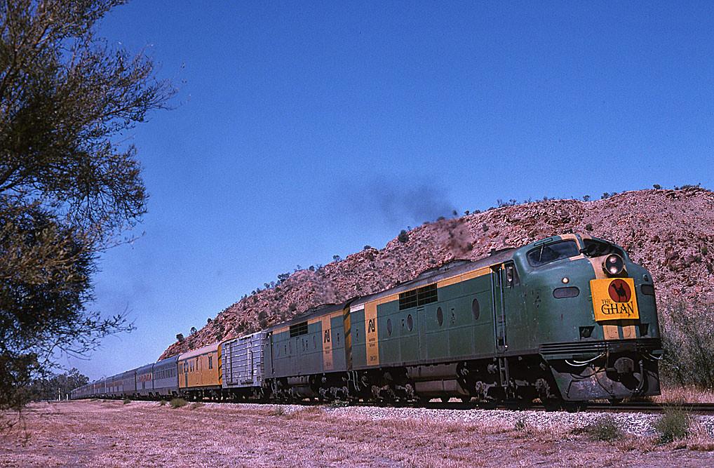 Ghan at Alice Springs by Bingley Hall
