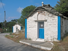 Πηγη eine Familie zwei Kirchen