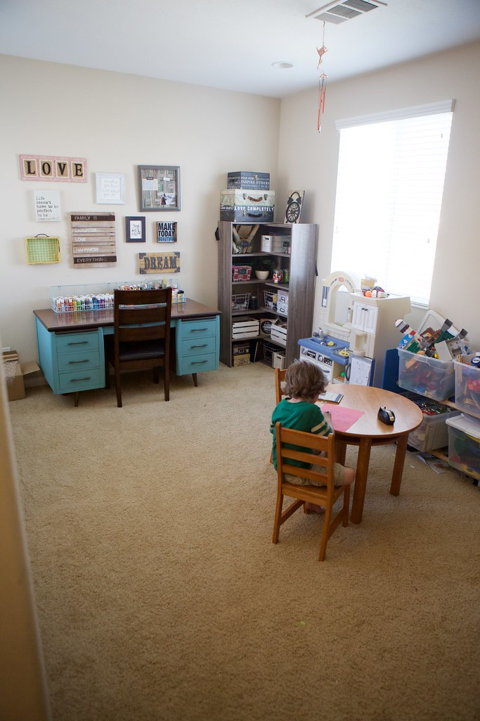 Craft Room and Play Room Combo