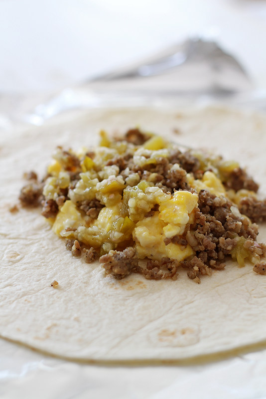 Freezer Breakfast Burritos | girlversusdough.com @girlversusdough
