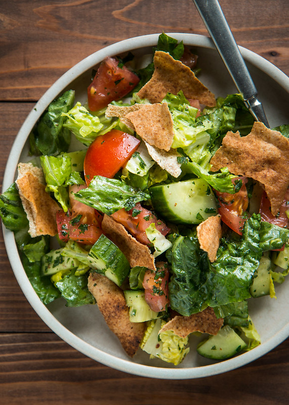 Mediterranean fattoush salad with video will cook for for Arabic cuisine names