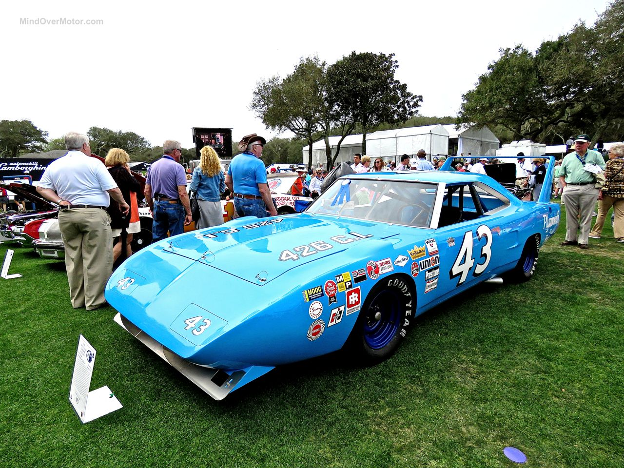 Amelia Island Concours Plymouth Superbird Richard Petty 43