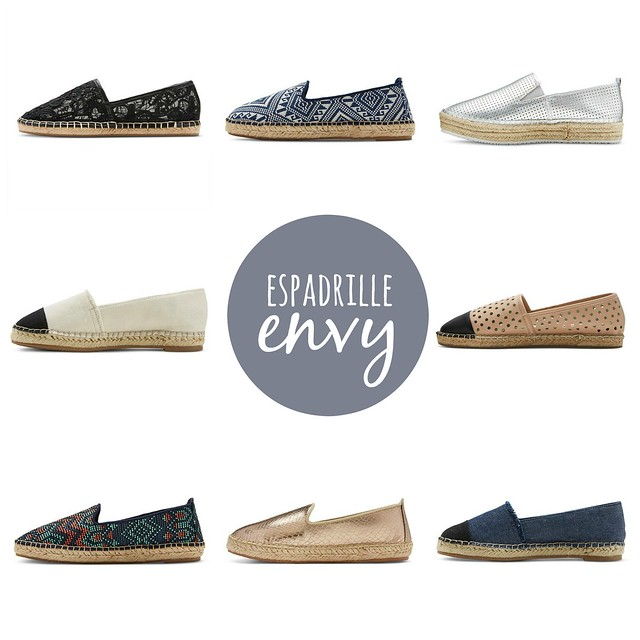 on trend espadrille envy; Style On Target; spring 2016 trend