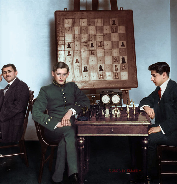 Jose Raul Capablanca vs Alexander Alekhine, 1914