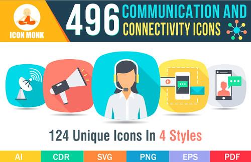 496 Communication icons