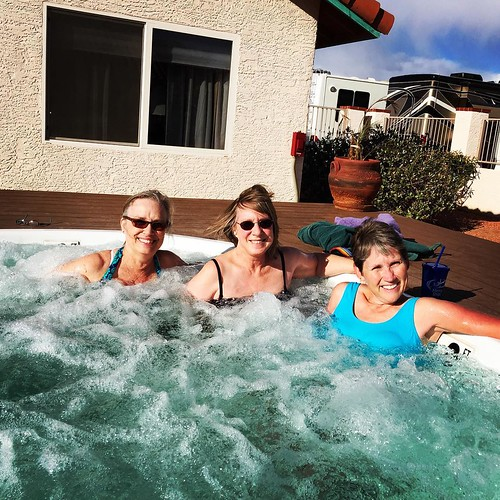 That time the SOWER project had a hot tub. #thankful #ohyeahbaby #sowers