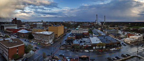 Notley Hawkins Photography, Columbia MO Photographer, Columbia MO Photo, Columbia Missouri Photography, Downtown Columbia Missouri, Broadway, architecture, Panorama, http://www.notleyhawkins.com/
