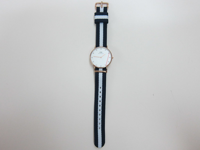 DW - Classy Glasgow Watch Rose Gold (34mm) - Front