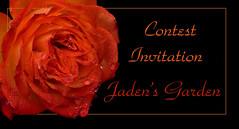 Jaden's Garden Contest