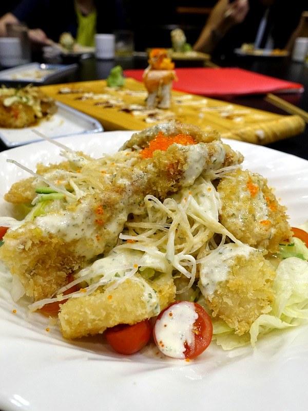 Oedo Japanese Restaurant- Oedo Salad P260
