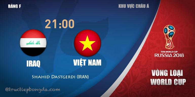 Iraq vs Việt Nam