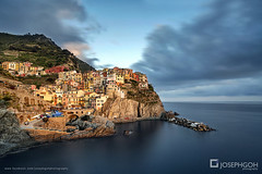 Day shot of Cinque Terre, Italy