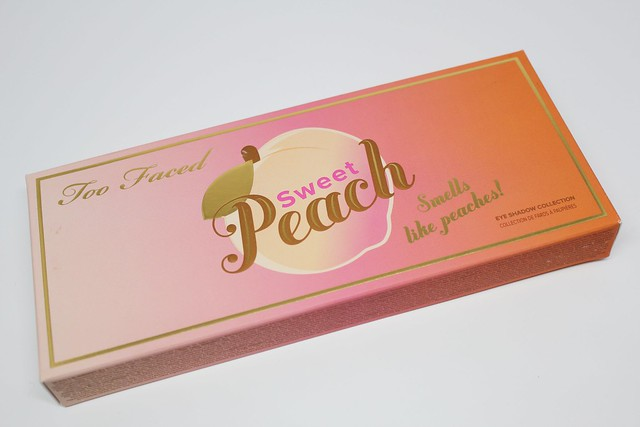 Too Faced Sweet Peach palette review and swatches