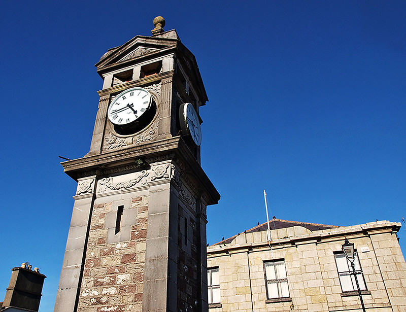 Boyle Town Clock & Courthouse