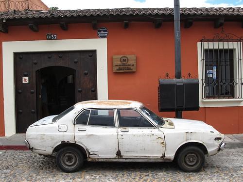 Antigua: oui, cette chose roule toujours...