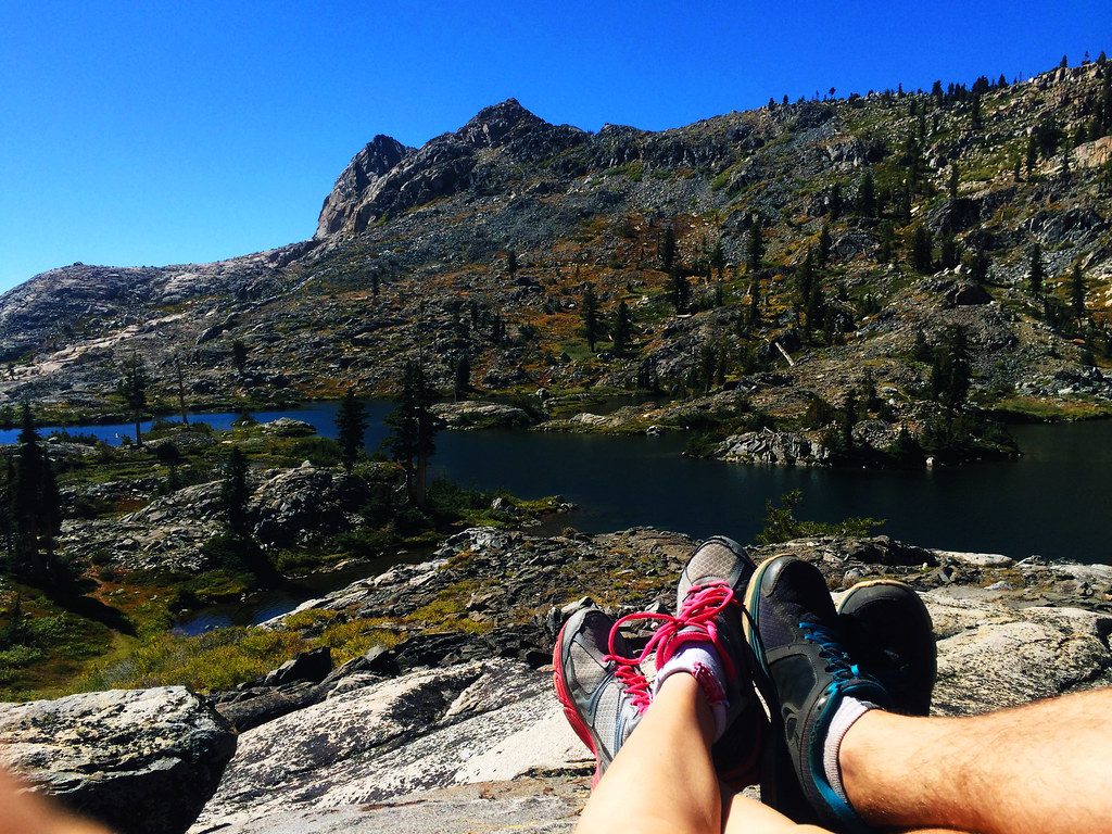 How not to quit your job and travel: Desolation Wilderness, CA, USA