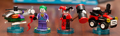 Lego Dimensions- Joker and Harley Quinn Team Pack, Set 71229