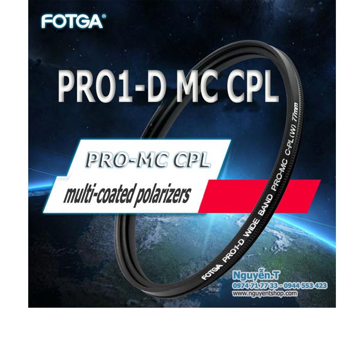 Filter Fotga PRO1-D MC CPL Polarizing 72-77mm