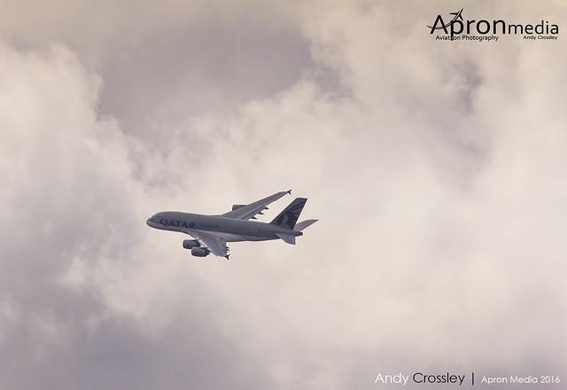 A7-APE | Qatar | Airbus A380