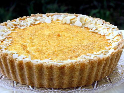 Almond Ice Cream Cake