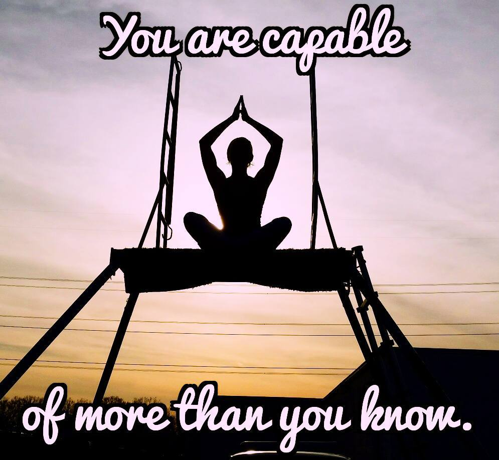 Quotes Wallpaper A Little Yoga On The Trapeze Board It A Great