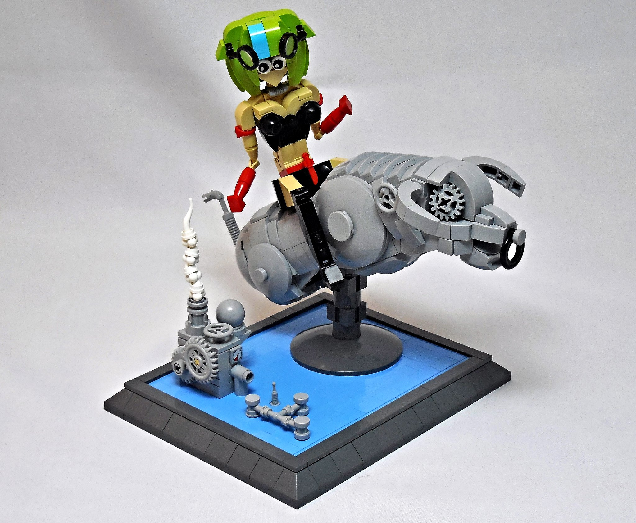 LEGO® MOC by Vitreolum: The Iron Bull