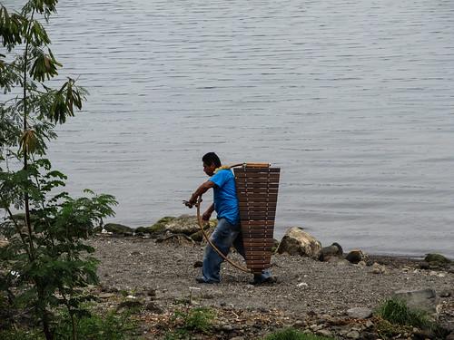 Laguna de Apoyo: le joueur de xylophone