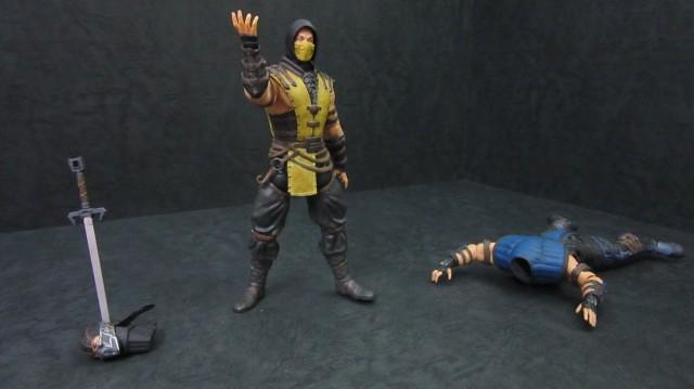 【玩具人SIN投稿】Mezco Mortal Kombat X Scorpion & SubZero 魔蠍 & 絕對零度評測