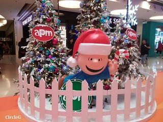 APM HONGKONG KWUNTONG 觀塘 SNOOPY 2015 CIRCLEG 聖誕裝飾 (3)