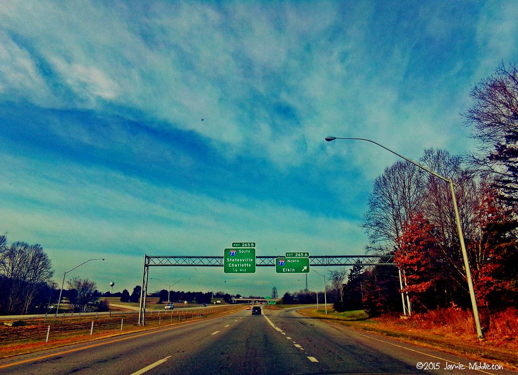 US 421 near Yadkenville, NC