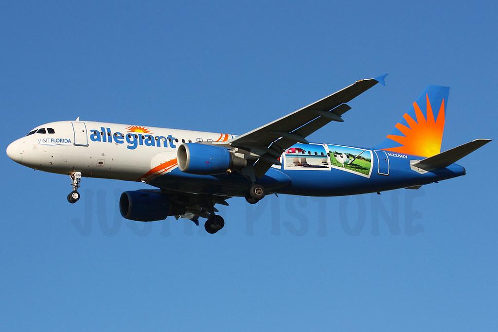 Allegiant | A320 | N228NV | SFB