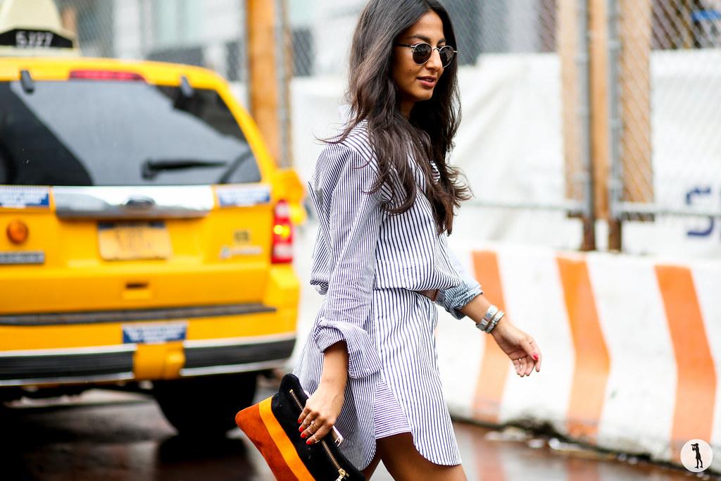 Nausheen Shah at New York Fashion Week