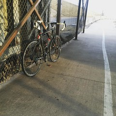 A quick shot below the train trestle earlier today.   Very thankful for my wife made it possible for me to get a spin in today. As athletes we often take for granted the sacrifice or amount of patience we ask from loved ones. We not only are pushing ourse