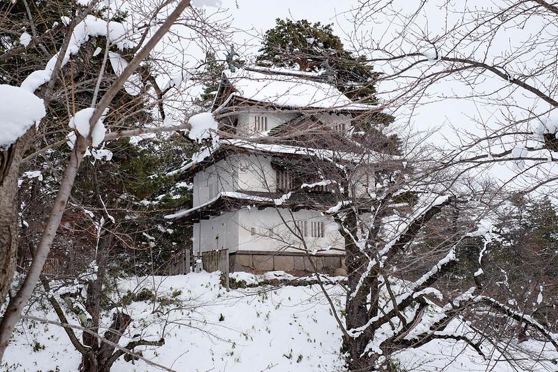 弘前城 2015年12月31日