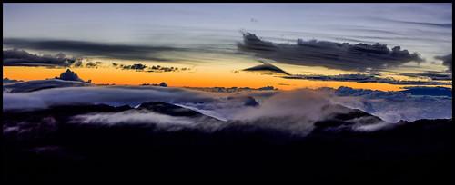 panorama sunrise hawaii us unitedstates pano maui kula haleakalā martinsmith haleakula haleakalānationalpark predawnglow 7imagepanorama nikond750 ©martinsmith maui2015