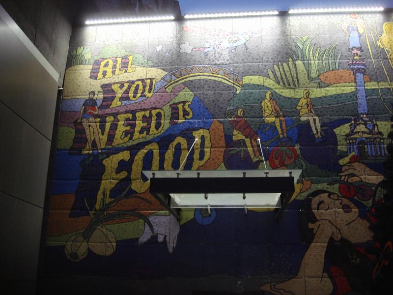 All you need is food Kiev