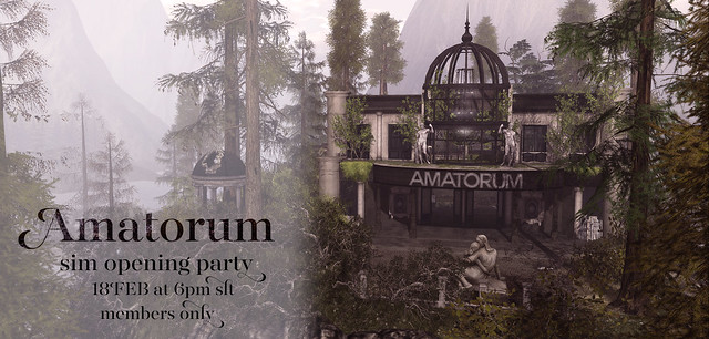 Amatorum Sim Opening Party