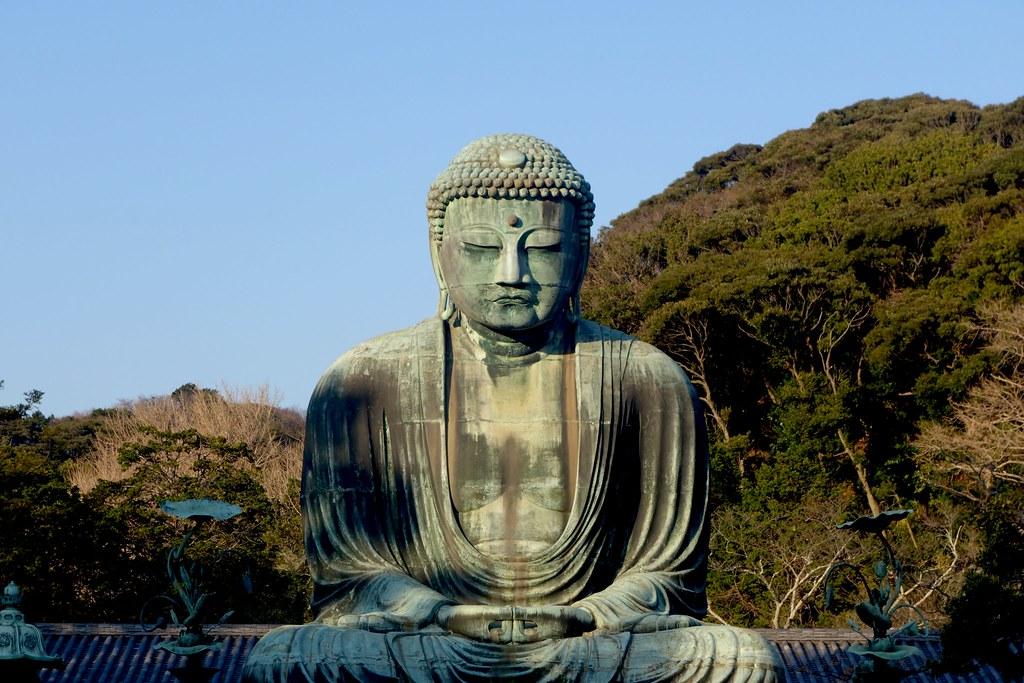 Giant Buddha, Daibutsu, Kamakura, Japan