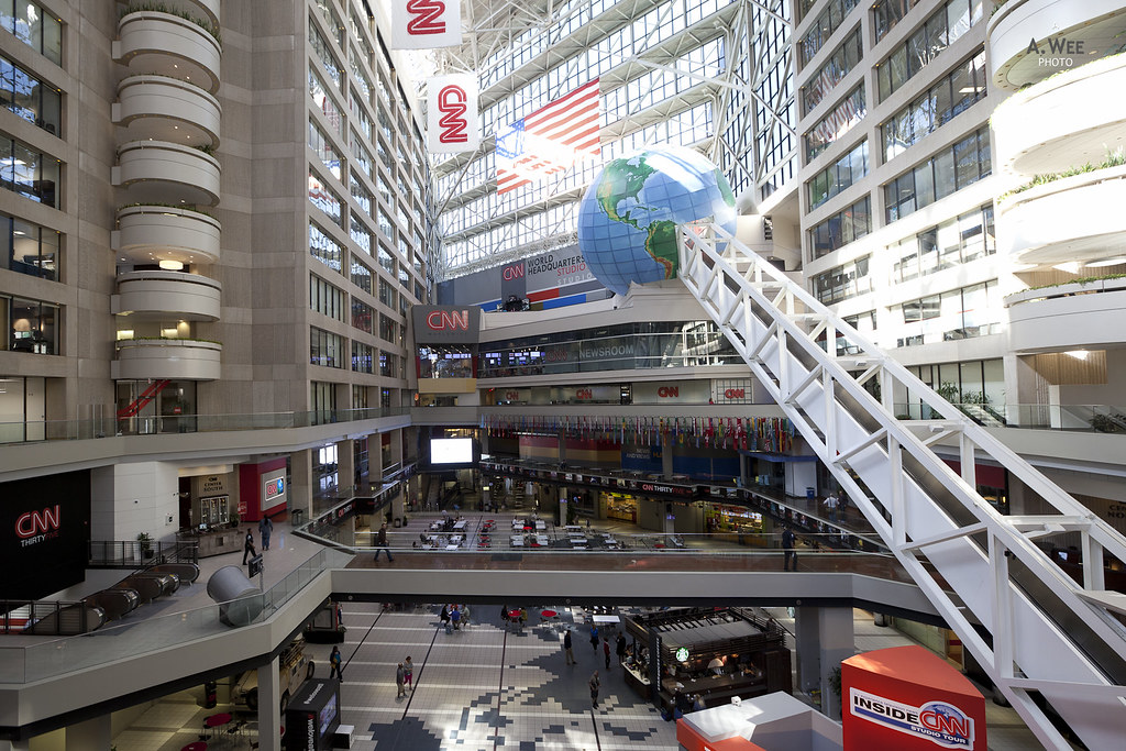 Inside the CNN Building