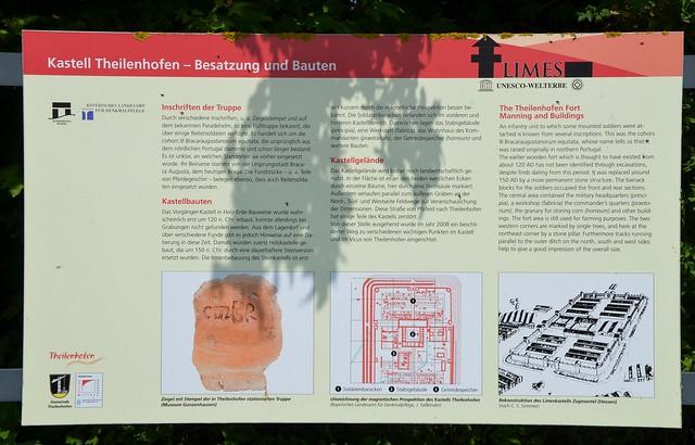 Raetian Limes 71a - Kastell Theilenhofen, Iciniacum