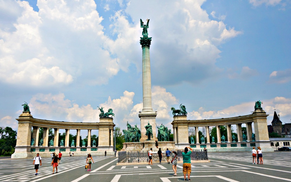 Heros Square Budapest