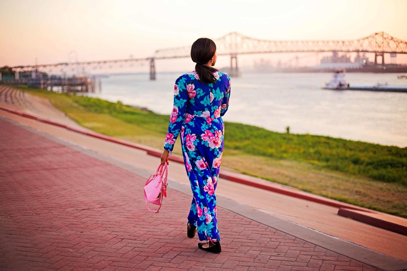 louisiana street style streetwear feminine dress