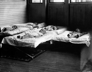 Children sleeping in nursery school - Caryville