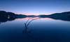 Roznow lake dusk by Dariusz Wieclawski