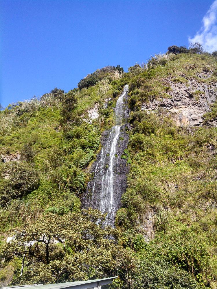 Banos Ecuador Waterfall