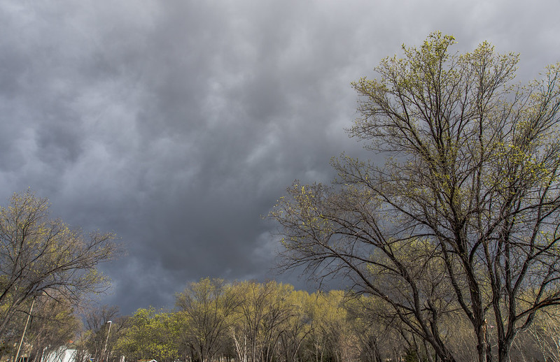 Dark Early March Sky over Prescott